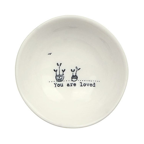 East Of India You Are Loved Bowl