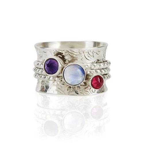 Charlottes Web Mystical Yin Spinning Ring