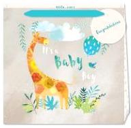 Baby Boy Giraffe Gift Bag