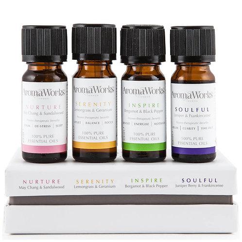 Aromaworks Essential Oil Set Of 4