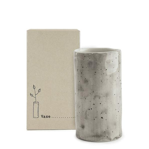 East of India Speckled Wash Small Vase