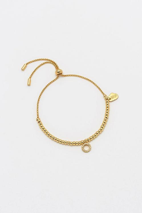 Estella Bartlett Gold Hoop Bracelet