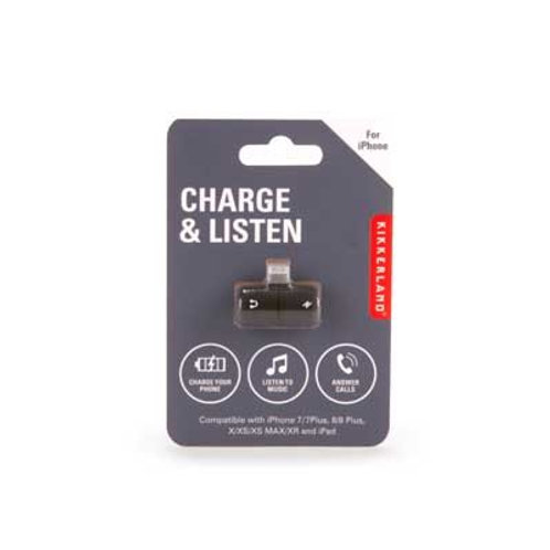 Charge And Listen