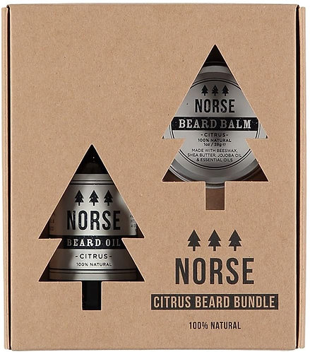NORSE Beard Bundle Oil And  Balm