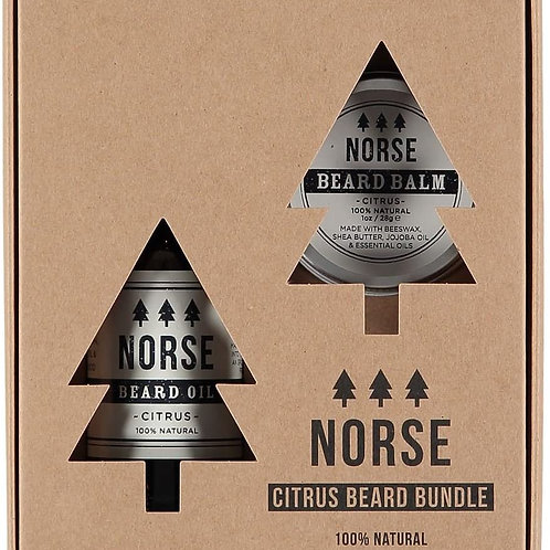 NORSE Beard Bundle Oil And  Balm
