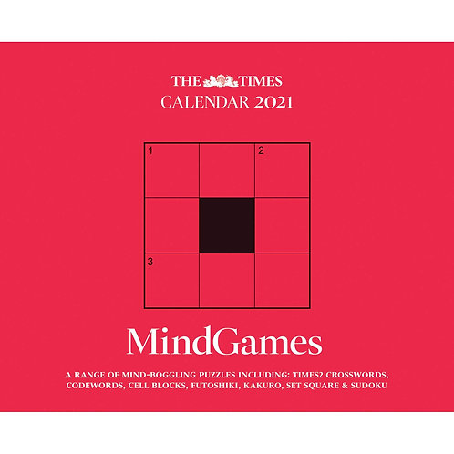 2021 The Times Mind Games Desk calendar