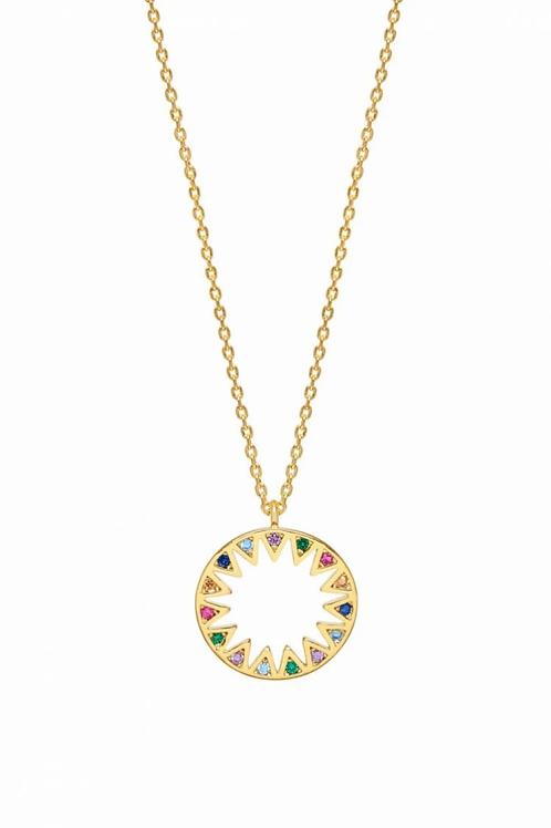 Estella Bartlett Rainbow Sunshine Necklace