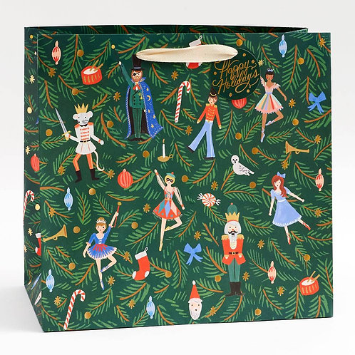 Rifle Paper Co Nutcracker Large Gift Bag