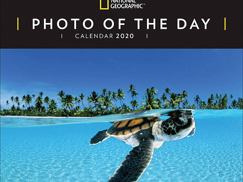 2021 National Geographic Photo Of The Day Desk Calendar