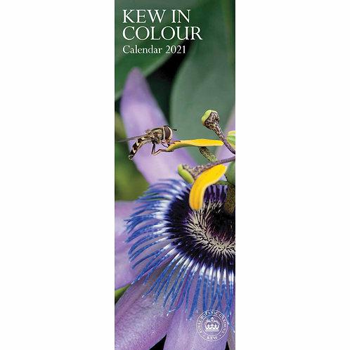2021 Kew In Colour Slim Calendar