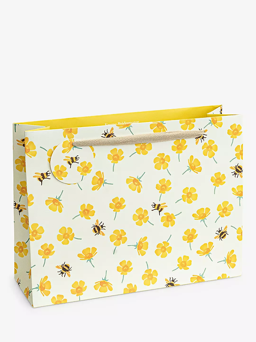 Emma Bridgewater Buttercup And Bees Large Gift Bag