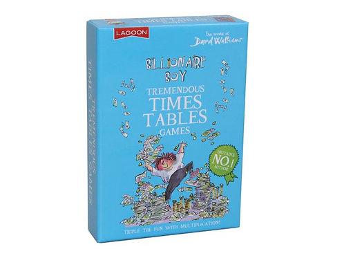 Billionaire Boys Tremendous Times Tables Game