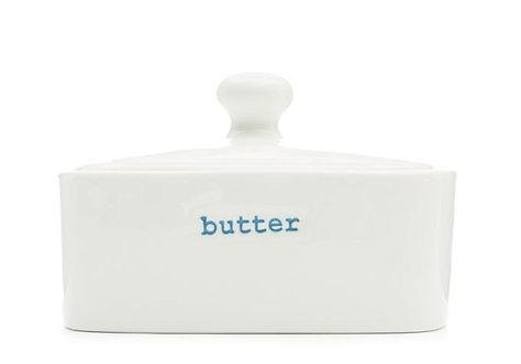 Keith Brymer Jones Butter Dish - blue