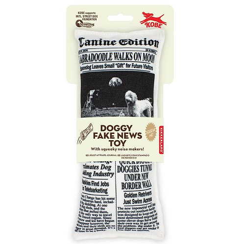 Doggy Fake News Toy