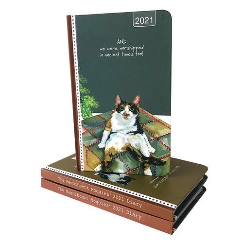 2021 Magnificent Moggies Diary