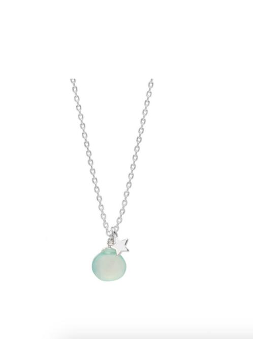 Estella Bartlett Gemstone And Star Chalcedony Necklace
