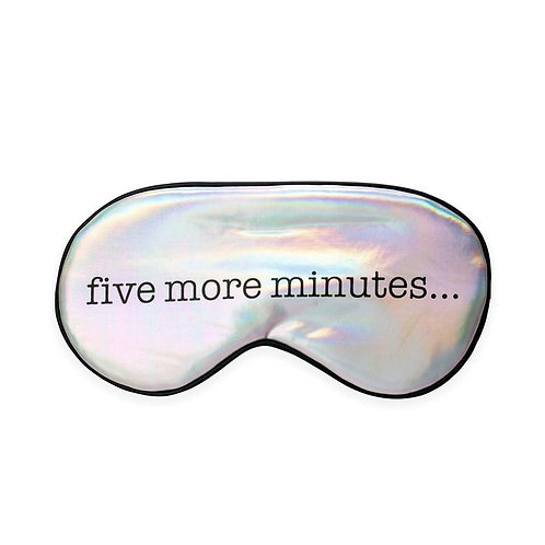 Sleep Mask Five More Minutes