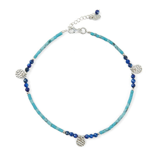 Charlotte's Web Istanbul Turquoise Anklet
