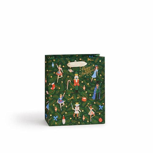 Rifle Paper Co Nutcracker Medium Gift Bag