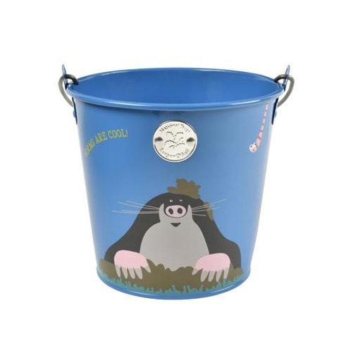 Blue National Trust Mole Childs Bucket