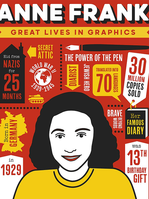Great Lives In Graphics: Anne Frank