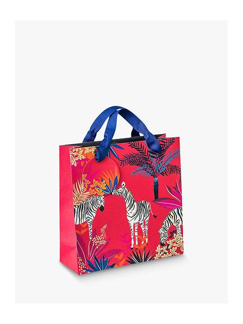 Sara Miller Medium Zebra Gift Bag