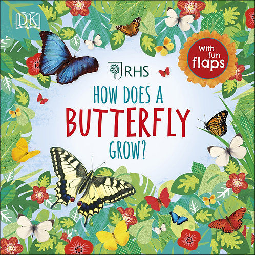 RHS How Does a Butterfly Grow Book