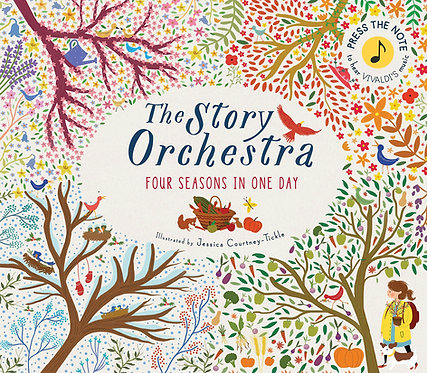 The The Story Orchestra: Four Seasons in One Day Book
