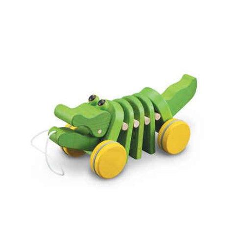 Plan Toys Pull Along Dancing Alligator