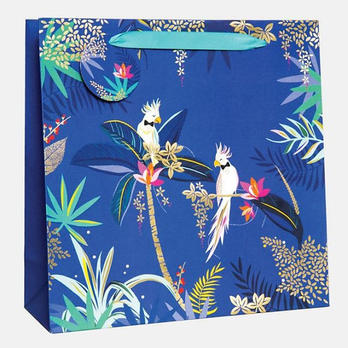 Sara Miller Large Cockatoo Gift Bag