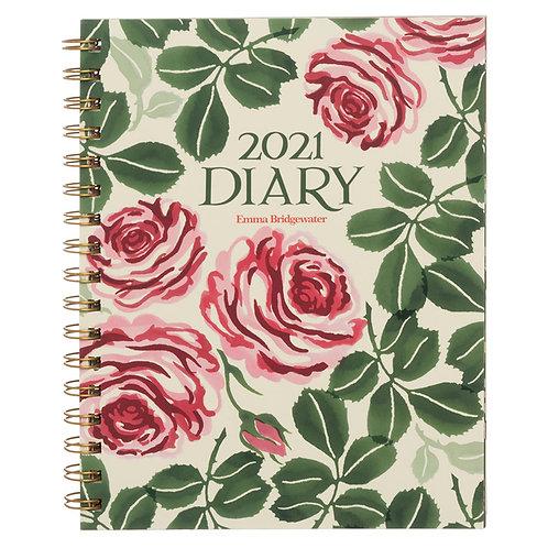 2021 Emma Bridgewater Roses A5 Diary