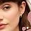 Thumbnail: Estella Bartlett Hexagonal Huggie Earrings