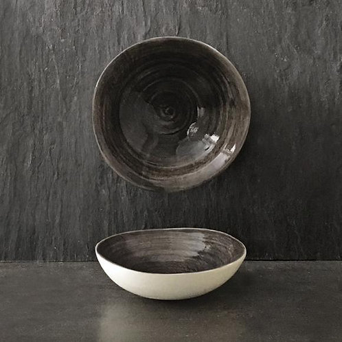 East Of India Small Black Wash Bowl