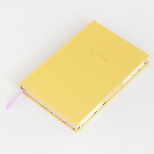 Yellow Bedtime Journal 'Sleep Easy'
