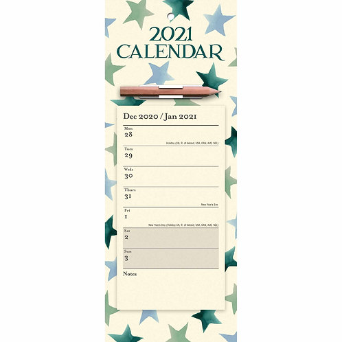 2021 Emma Bridgewater Star Fridge Calendar