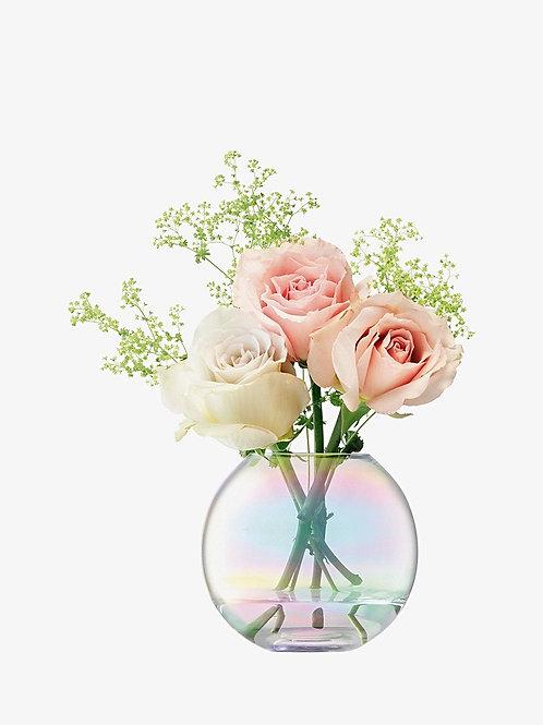 LSA Mother Of Pearl Vase 11cm