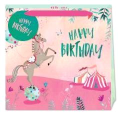 Happy Birthday Circus Gift Bag