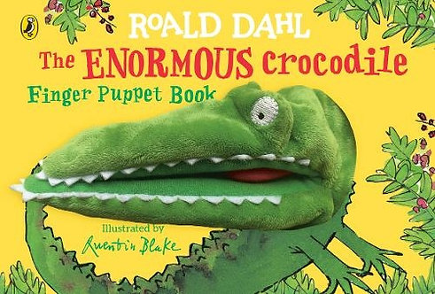 The Enormous Crocodile Finger Puppet Book