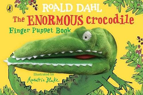 The Enormous Crocodile Finger Puppet Book
