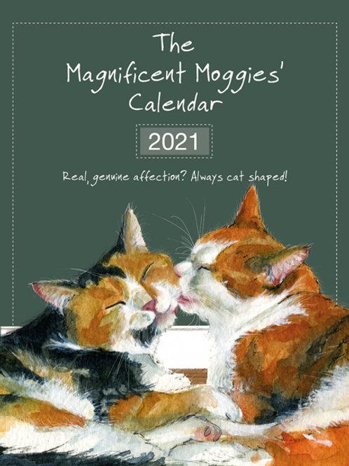 2021 Magnificent Moggies Calendar