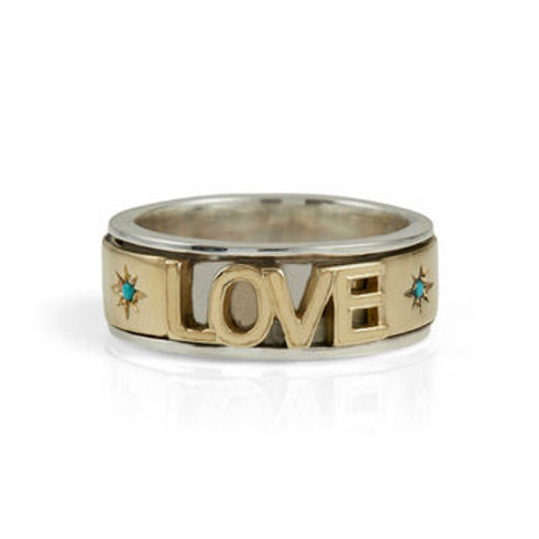 Charlotte's Web Love Spinning Ring