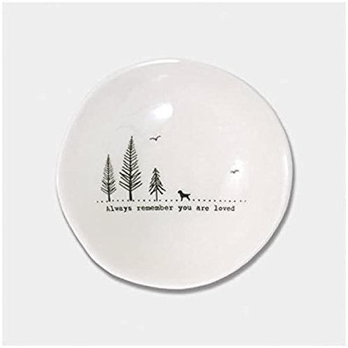 East Of India Always Remember You Are Loved Medium Dish