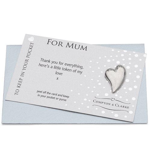 Pocket Charm For Mum