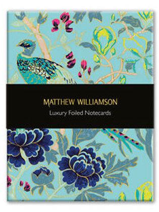 Mathew Williamson Notecards Birds And Blossom
