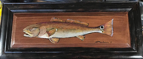Redfish on Wood