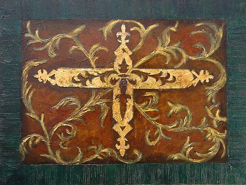 Verdigris Cross