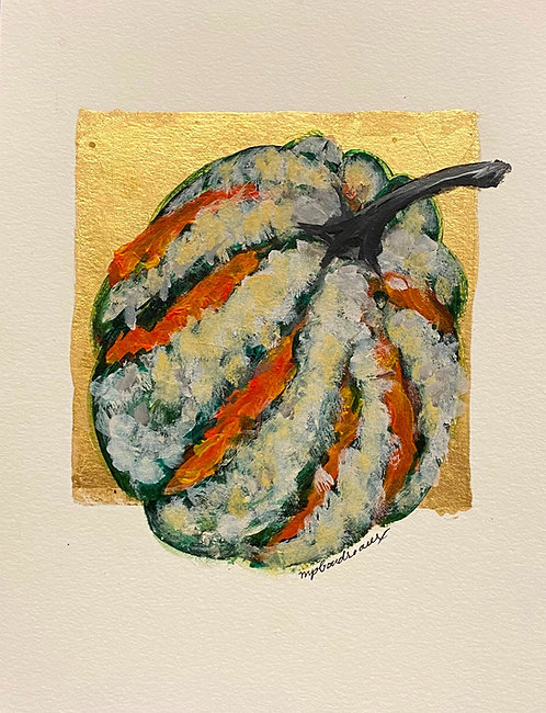 Multi color Gourd 9x12