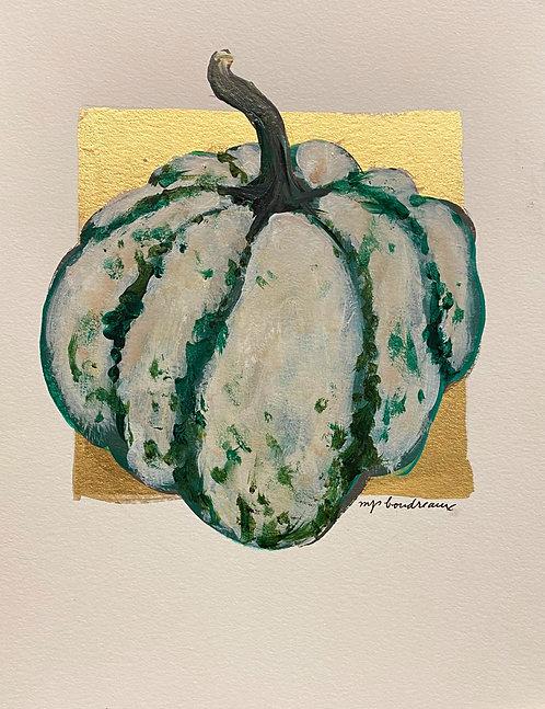 Green & White Gourd II