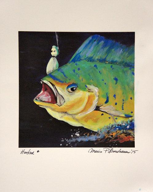 """Hooked"" - Artist Enhanced Print"