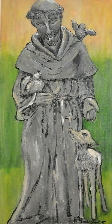 St. Francis with a Lamb